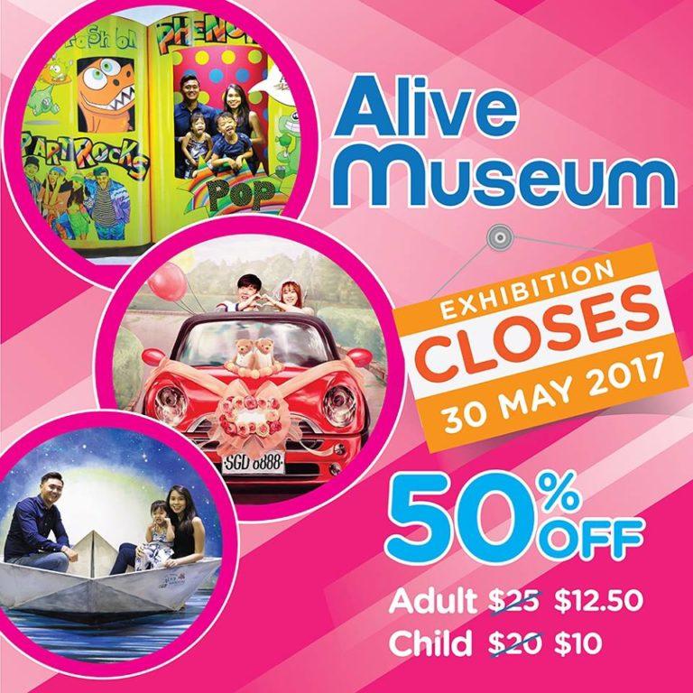 Alive Museum SG tutup untuk selamanya