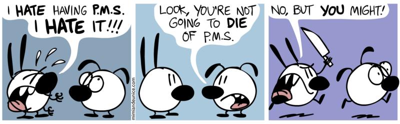 Brain VS. Heart: PMS