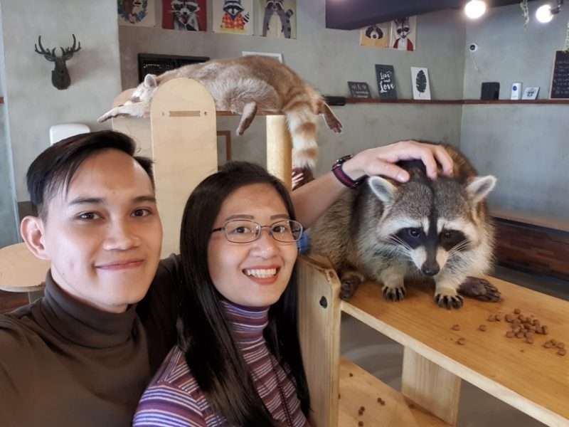 Jalan-Jalan Terus: Raccoon Cafe