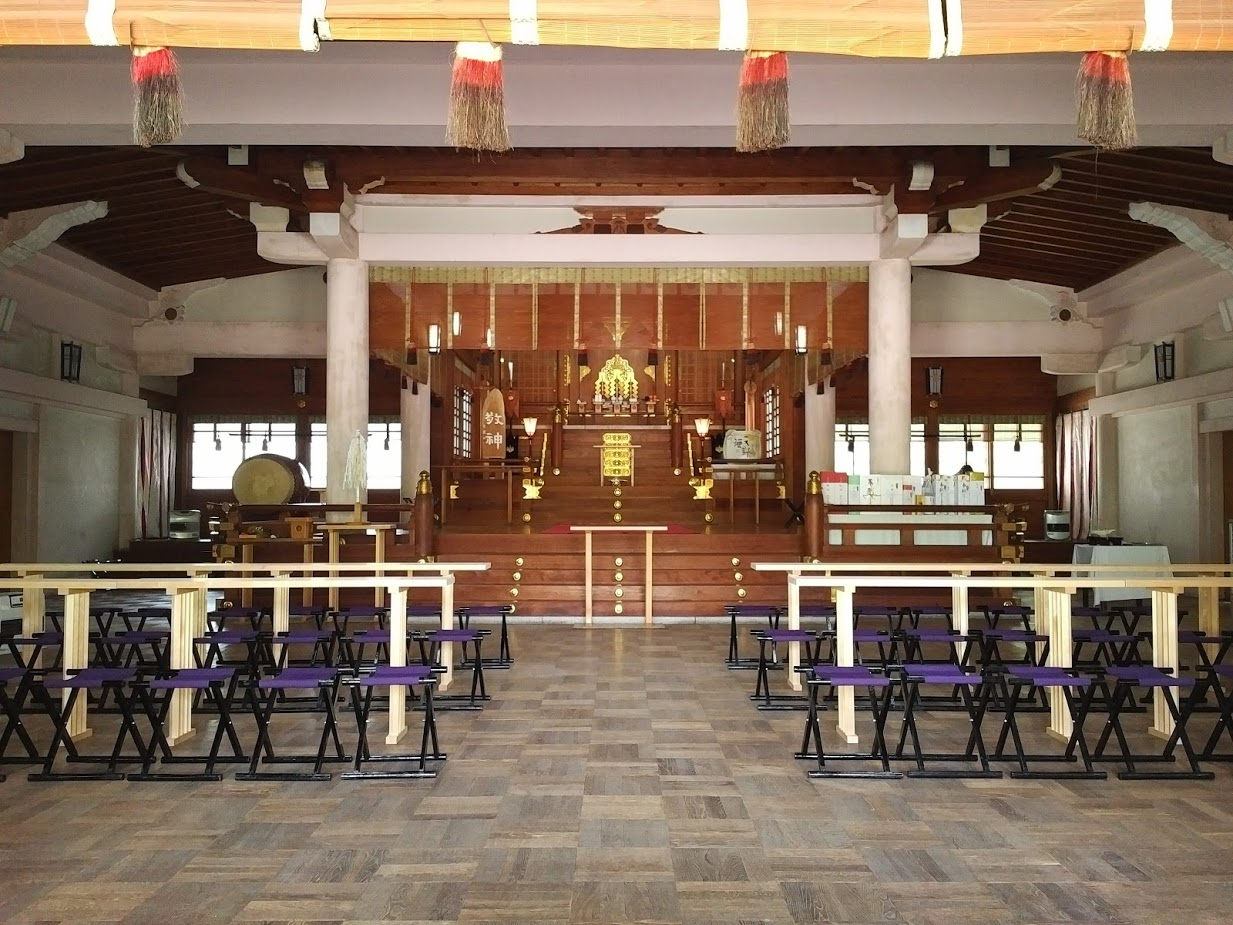 Altar di Hokoku Shrine