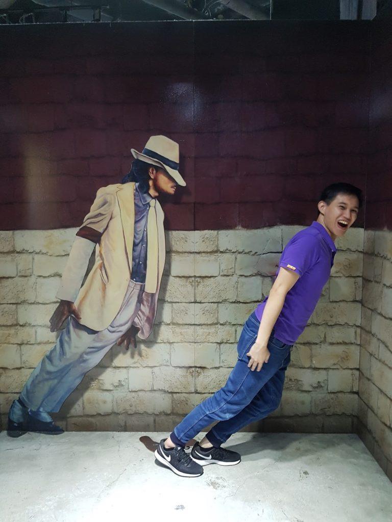 Michael Jackson wannabe