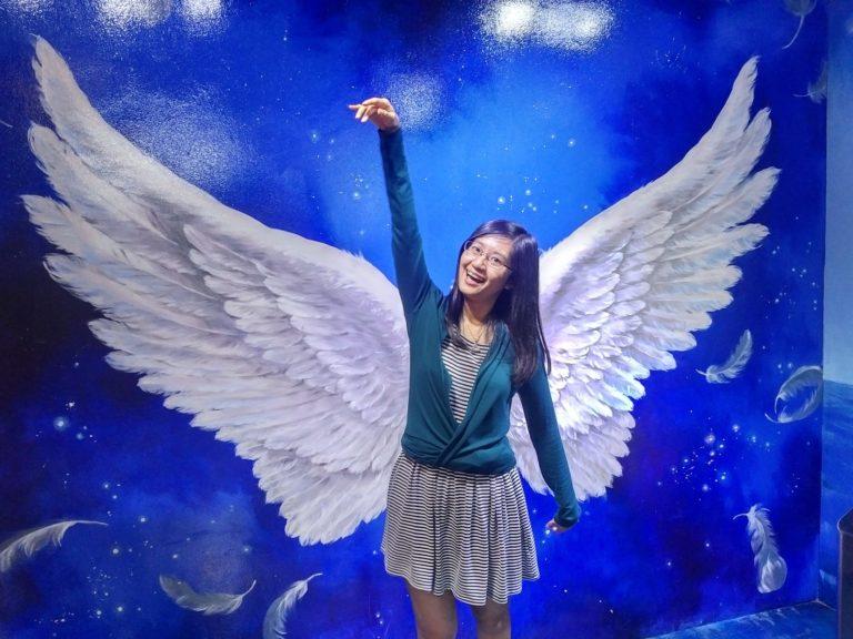 I am an angel... sometimes.