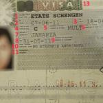 Cara Membaca Schengen Visa