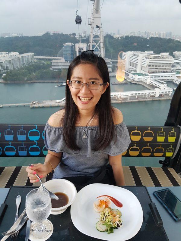 Dinner Unik dan Romantis di Singapura