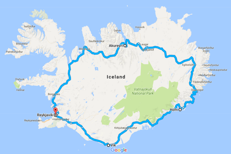 Route 1 Iceland