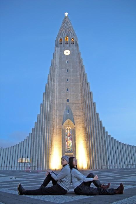 Gereja Hallgrímskirkja (baca: Hakskrimkirkya)