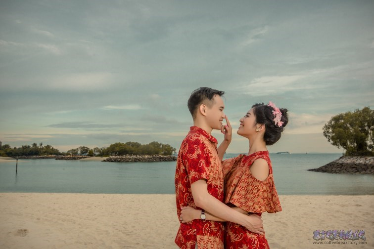Foto Prewedding di Singapura