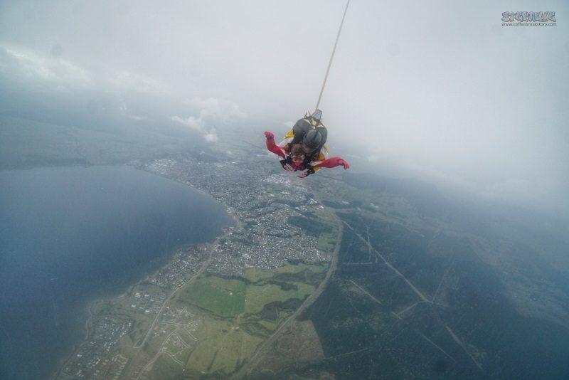 Pengalaman Skydiving